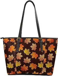 Best maple leaf leather handbags Reviews