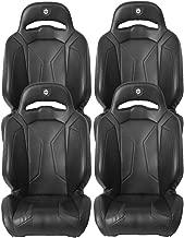 Pro Armor Black RZR Suspension Seat 2011-2019 Polaris RZR XP 1000 Turbo 4 S, 4 Pack