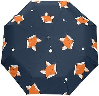 ALAZA 3 Folds Auto Open Close Anti-UV Umbrella