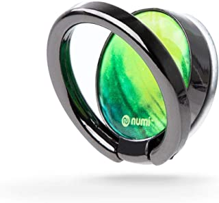 NUMI Phone Spinner (Green) - 3-in-1 Phone Spinner, Smartphone Stand, and Phone Ring - Ultimate Smartphone Accessory for iPhone, Samsung and All Smartphones