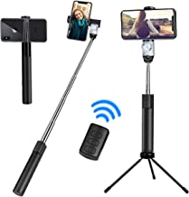 Selfie Stick Tripod, Extendable Selfie Stick with Wireless Remote Shutter and Built-in Party Ball Lights,Compatible with iPhone Xs/Xr/Xs Max/X/8/8Plus/7/Galaxy Note 9/S9/Huawei/Google/Xiaomi