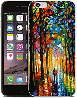 iPhone 8 Plus Case,iPhone 7 Plus Case,Ailiber Oil Painting Canvas Art Slim-fit Anti-Scratches Anti-finger Print Lightweight Soft TPU Protective Cover for Apple iPhone 7Plus/8Plus 5.5inch-Inseparable