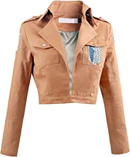 Unisex Long Sleeve Khaki Jackets