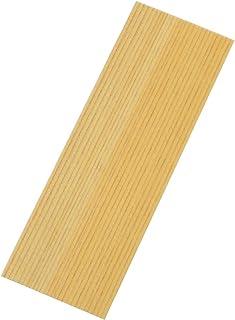shiorifan 無地のヒノキの薄板 約0.5mm(栞や短冊の作成など) (長方形S 10枚)