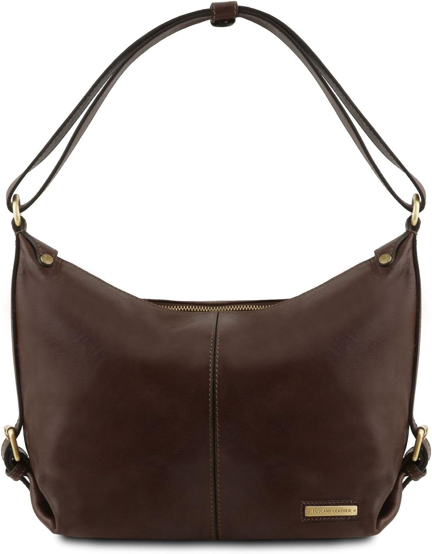 Tuscany Leather Sabrina  Leather hobo bag  TL141479