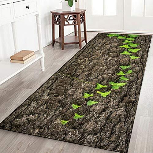 HLXX Alfombrillas de Cocina, Felpudo Antideslizante Impreso, Felpudo Europeo, alfombras de Entrada, alfombras Lavables para el hogar, Felpudo Interior A8 60x180cm