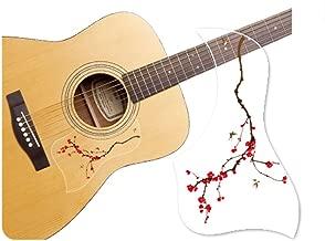 Healingshield Premium Acoustic Guitar Pickguard Style Type Cherry Blossom
