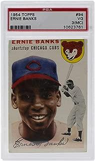 1954 ernie banks psa