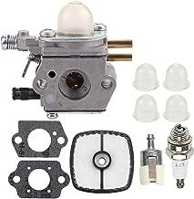 Milttor C1U-K52 C1U-K47 C1U-K29 Carburetor Fuel Line Air Filter Fit Echo SRM2100 SRM2110 PE2000 PP1200 PP800 PPF2100 PPF2110 PPSR2122 PPT2100 Trimmer Brushcutter