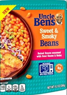 Uncle Ben's Ready To Heat Beans, Brown Sugar, 9.2 Ounce (Pack of 6)