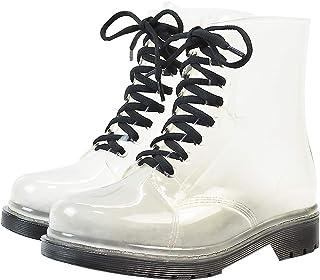 56e2c25fdd1ab Amazon.com: Clear - Rain Boots / Rain Footwear: Clothing, Shoes ...
