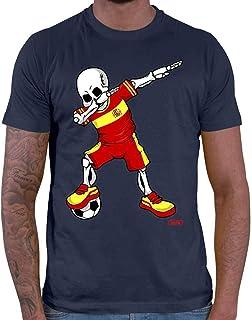 Hariz Camiseta de fútbol para hombre, diseño de esqueleto de Dab