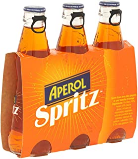 3x Aperol spritz soda Aperitiv Aperitif 175ml bitter aus italien