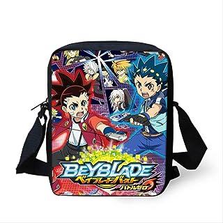 Mochila Infantil XYDBB Juego Anime Beyblade Ráfaga Imprimir Escuela Juegos De Bolsas para Adolescentes Niños Cool Cartoon Niños Schoolbags Niños Libros como se Muestra Z4189E