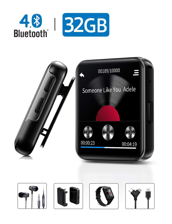 Bluetooth Earbuds Recorder Running Workout