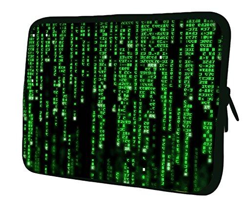 Luxburg® Funda Bolso en Neopreno para iPad Mini/iPad Mini 2 / iPad Mini 3 / iPad Mini 4 - Código Matrix