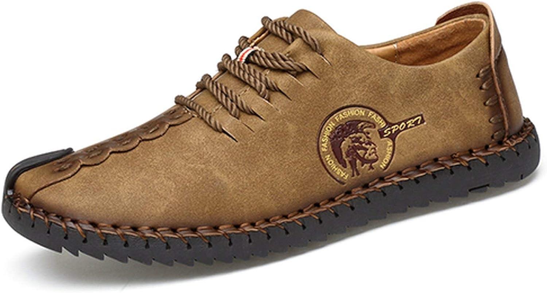 FJ-Direct Classic Comfortable Men Casual shoes Loafers Men shoes Quality Split Leather shoes Men Flats Moccasins shoes Plus Size