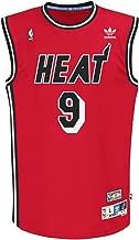 adidas Miami Heat #9 Dan Majerle NBA Soul Swingman Jersey, Red