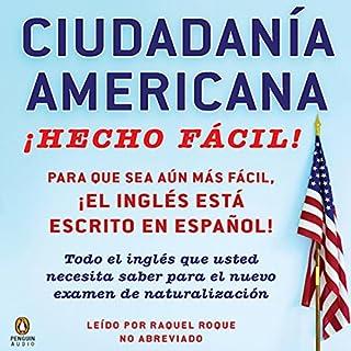 Ciudadania Americana ¡Hecho fácil! audiobook cover art