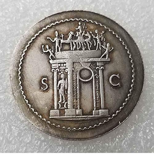 YunBest moneda romana antigua – colección de monedas antiguas – Philosopher King – monedas del Imperio Romano – réplica antigua moneda romana – Morgan Silver Dollar BestShop