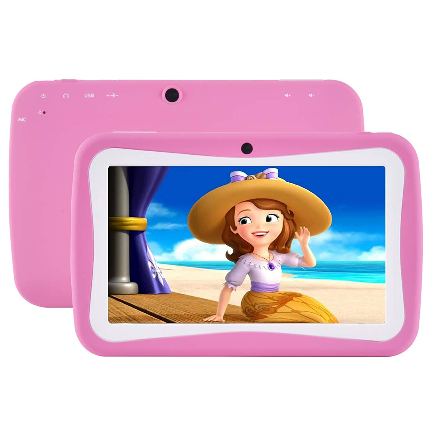 Kids Tablet, Quad Core 7'' inch HD Screen Android 4 4 KitKat
