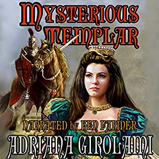 Mysterious Templar audiobook cover art
