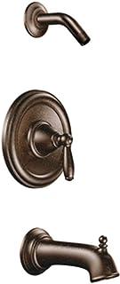 Moen T2153NHORB Brantford Posi-Temp Pressure Balancing Tub and Shower Trim Kit without Showerhead, Valve Required, Oil-Rub...