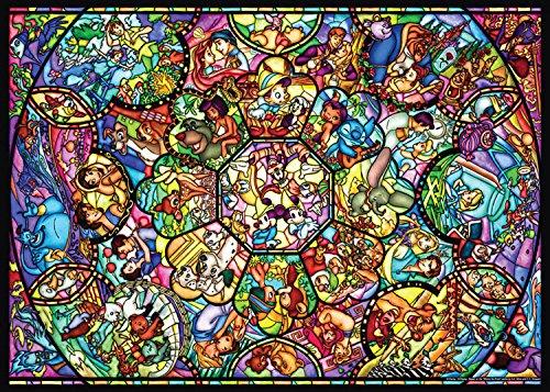 TEN-D500-457 ディズニー オールスターステンドグラス(オールキャラクター) 500ピース