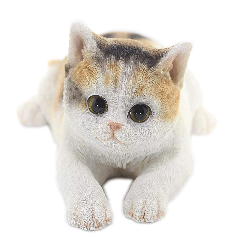 楽観的クリケットほとんどの場合[ファンシー] ネコ 三毛猫 猫 置物 インテリア ガーデニング ガーデンオーナメント 猫 好き な 人 へ の プレゼント 誕生日プレゼント 女性 人気 彼女 結婚記念日 転居 最適なプレゼント ca116m