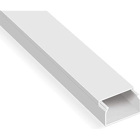 20m Kabelkanal Selbstklebend 30x20mm Bxh Weiß Baumarkt
