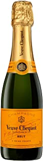 Veuve Clicquot - Champagne brut Yellow Label Envelope botellín, 375 ml