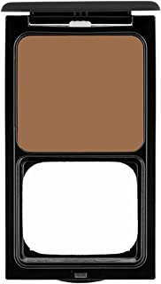Cream Foundation Compact by Sacha Cosmetics, Best Natural Matte Makeup to give Flawless Looking Skin, Full Coverage, Normal to Dry Skin, 0.45 oz, Perfect Spice