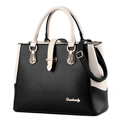 576cae302c Tibes Ladies PU Leather Handbag with Shoulder Strap