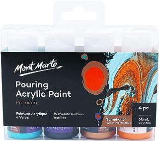 Mont Marte Acrylic Pouring/Fluid 4pc Paint Set - Symphony