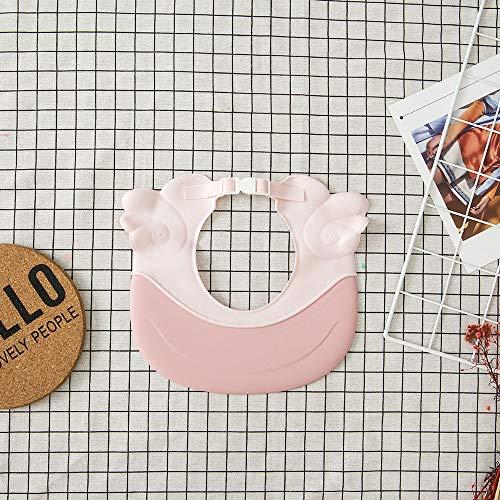 TIY Gorro de champú para bebé, Cute Wing Animal, Gorro de champú para bebé, Protector de champú para niños, Sombrilla directa para niños, Gorro de ducha de baño, Baby Care rosa