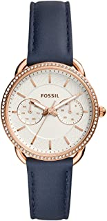Fossil Womens Quartz Watch, Analog Display and Leather Strap ES4394