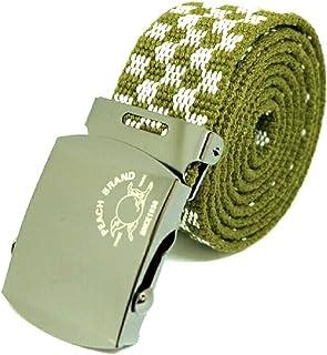 【ピーチブランド】 ガチャベルト 日本製 80年以上続く老舗細巾織物メーカー直販 プレゼント 紳士用