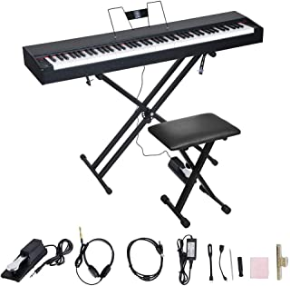 LES AILES DE LA VOIX 88 Weighted Key Portable Digital Piano