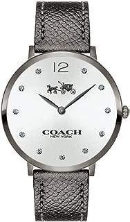 Women's Slim Easton Gray Leather Strap Watch 35mm 14502686