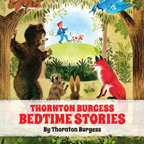 Thornton Burgess Bedtime Stories cover art