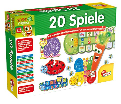 Lisciani 51090 Spiel, Vorschule,Spielesammlung