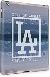L. A. Los Angeles California Long Beach Paradise City Of Angels Plastic Tablet Snap On Back Case Cover Shell For iPad 2 & iPad 3 & iPad 4