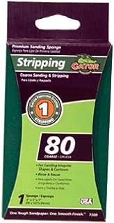 """Gator Finishing 7300 80 Grit Aluminum Oxide Sanding Sponges (1 pack), 3"""" x 5"""" x 1"""""""