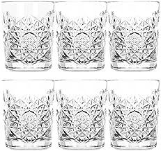 Libbey Hobstar Kristallen glazen voor whisky, water en sap; inhoud: 350 ml; set van 6 stuks
