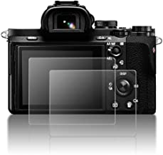 Protective Screen Guard for Sony Alpha A9 A7II A7RII A7SII A7R Mark II Camera, AFUNTA 2 Pack Tempered Glass LCD Screen Protector for A72 A7R2 A7S2 A7R Mark 2