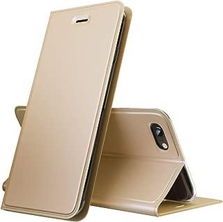 iPhone 6 Plus/iPhone 6S Plus Case, PU Leather Flip Folio Case, Slim Fit Purse Walletwith Card Holder, Compatible with Apple iPhone 6 Plus/iPhone 6S Plus - Gold