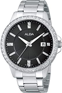 Alba Stainless Steel Casual Watch For WoMen , AG8351X