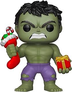Funko Pop Marvel: Holiday – Hulk con figura coleccionable, multicolor