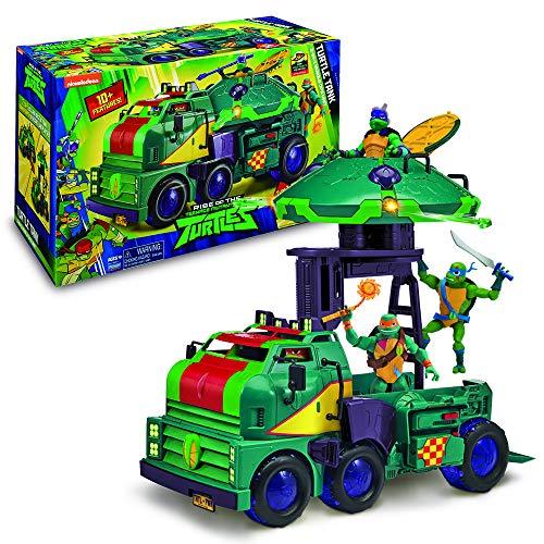 Giochi Preziosi Turtles, Rise Off Veicolo Tank, Carro Armato con Accessori