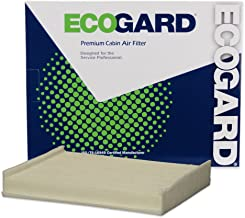 ECOGARD XC10491 Premium Cabin Air Filter Fits Ford F-150, F-250 Super Duty, F-350 Super Duty, F-450 Super Duty, F-550 Super Duty